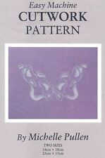 Easy Machine Fabric Cutwork Sewing Transfer Pattern Pullen Butterfly Embroidery