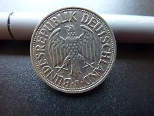 1954F Germany 1 Mark Nice Grade Coin