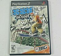 SSX On Tour (Sony Playstation 2, 2005) PS2 Video Game Complete Tested Works
