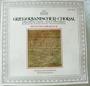 LP Gregorianischer Choral - Choralschola Münsterschwarzach Benediktiner
