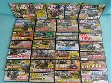 31 x 4WD ACTION DVD BULK FRASER ISLAND CAPE YORK OFF-ROAD HIGH COUNTRY ADVENTURE