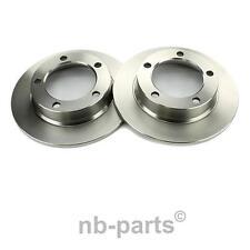 2x Brake Discs Front 10 23/32in Full LADA NIVA 2121 1600 1700 1900 2123 1.7