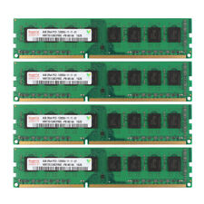 For Hynix 16GB (4X 4GB) PC3-12800U DDR3 1600MHz Desktop Memory RAM for AMD @MY