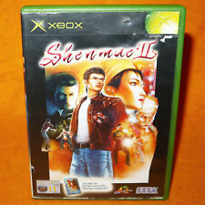 "2002 MICROSOFT XBOX SHENMUE II 2 VIDEO GAME + DVD ""SHENMUE, THE MOVIE"" PAL"