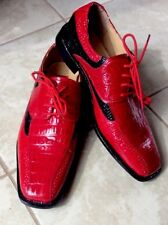 New Expressions by RC Men's Shoes 10.5 Red & Black Combo.