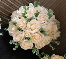 Wedding Flowers Bride  Medium  Cream Posy Bouquet  £17.50