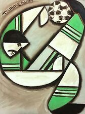 Bicycle Kick Picture Sports Artwork Soccer Painting For Sale By Artist Tommervik
