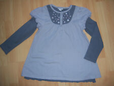 "Tee-shirt tunique gris fille 6 ANS ""Orchestra"""