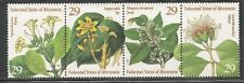 Micronesia #195 (A69) STRIP VF MNH - 1994 29c Flowers