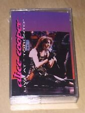 Alice Cooper Live At Toronto Cassette Tape Ain't That Just Like A Woman