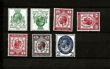 1929 (822) PUC SET INC SOME SIDEWAYS & INVERTED HIGH CAT MONTED MINT
