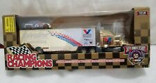 Racing Champions 1/64 Scale Valvoline Gold Transporter & Stock Car (New)