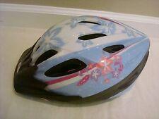 Bell Bicycle Bike Helmet Girl Pink Flower Racer Size Child