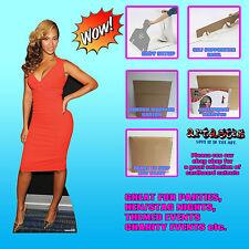 Beyonce Knowles LIFESZE CARDBOARD CUTOUT STANDEE STANDUP R&B Soul Pop Star Music