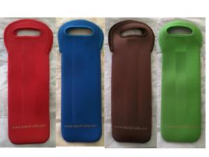 Neoprene Wine Bottle Carrier Tote Cooler Holder