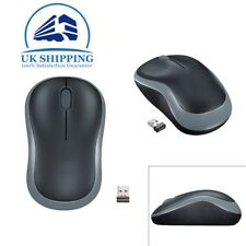 d3c35124ea2 Grey Wireless of Logitech M185 Optical Mouse Compact Use for PC Laptop MAC  Linux