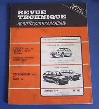 Revue technique RTA 363 volkswagen polo & audi 50