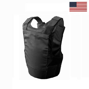 Brand new Concealable Bulletproof Vest Stabproof Body Armor NIJ 3A - XL