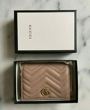 Gucci Marmont quilted-leather bi-fold wallet brand new RRP £310