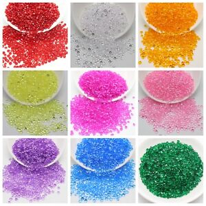 2000 Acrylic Rhinestone Diamond 4mm Confetti Wedding Deco Supplies Table Scatter