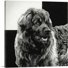 Artcanvas Leonberger Dog Breed Canvas Art Print