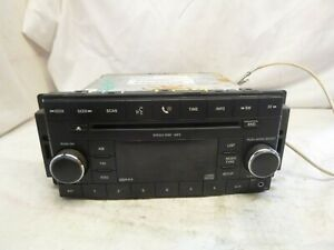 07 08 09 10 Chrysler Dodge Jeep Radio Cd Player RES P05064410AF LQY81