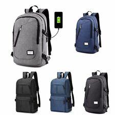 Backpack Women Men Anti-theft School Bags USB Charge Travel Bag Laptop Bagpack