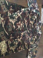 Mens Elite Workout Short Sleeve Camo Print Shirt Size Large