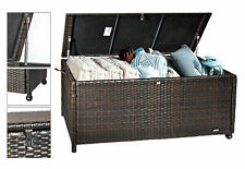 XL Polyrattan Auflagenbox Gartentruhe Kissenbox Gartenbox Aufbewahrungsbox BOX