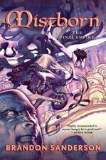 Mistborn: The Final Empire 1 by Brandon Sanderson (2006, Hardcover)
