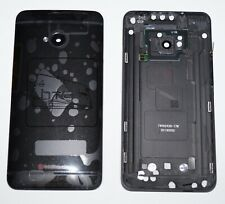 Original htc One M7 801c 801e 801n 801s Battery Cover Backcover Buttons Black