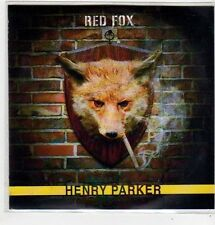 (FJ867) Red Fox, Henry Parker - 2013 DJ CD