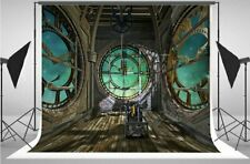 New listing 7x5Ft Mechanic steampunk empty room space Backdrop birthday Party Background