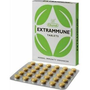 Charak Extrammune Immunity Booster Against Infections Faster Recovery 30 tablets