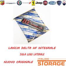 LANCIA DELTA HF INTEGRALE SIGLA LOGO LATERALE NUOVO ORIGINALE 82440758