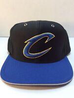 🏀Cleveland Cavaliers Mitchell & Ness NBA Team Snapback Hat/Cap Blue Black