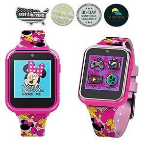 Reloj De Minnie Mouse Para Niñas Inteligente Tactil Con Camara Interactivo Marc