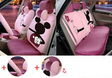 13pc/set new Plush Cartoon Mickey Mouse car covers universal car seat cover M329