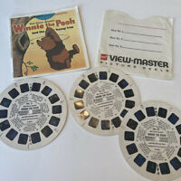 B362 Disney's Winnie the Pooh and the Honey Tree view-master Reels Packet