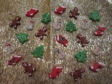 Littlest Pet Shop LPS Christmas Cookie Food Set Accessories RANDOM Lot Gift Bag