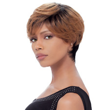 Sensationnel Bump Collection Wig 100% Human Hair FEATHER CHARM Colour 1B