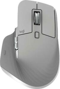 Logitech MX Master 3 Wireless Laser Mouse with Hyper-fast Scroll Wheel *Mid Gray