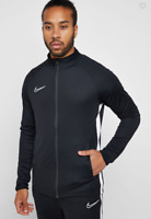 Nike Men's Dri-FIT Academy Full Zip Track Top, Black, Size M