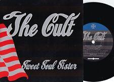 Cult ORIG UK PS 45 Sweet soul sister NM '90 Beggars Banquet NM BEG241 Hard Rock
