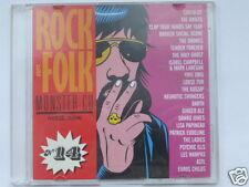 ROCK & FOLK  MONSTER CD  VOL.14, 22 TITRES, TRES BON ETAT