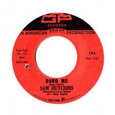 "NORTHERN SOUL 45 RPM - SAM HUTCHINS - AGP 106  ""DANG ME""  HEAR!!"
