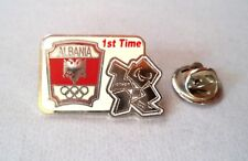 1st Time Paralympic Olympic Games. Committee of Albania NOC London 2012 Pin.