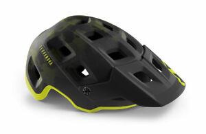 MET Terranova MIPS MTB Cycling Helmet - Camo / Lime Green