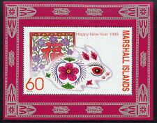 MARSHALL ISLANDS 1999 YEAR OF THE RABBIT MINT SOUVENIR SHEET