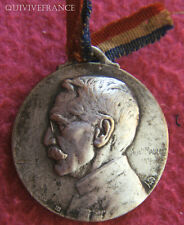 MED2059 - MEDAILLETTE GENERAL GALLIENI 1918